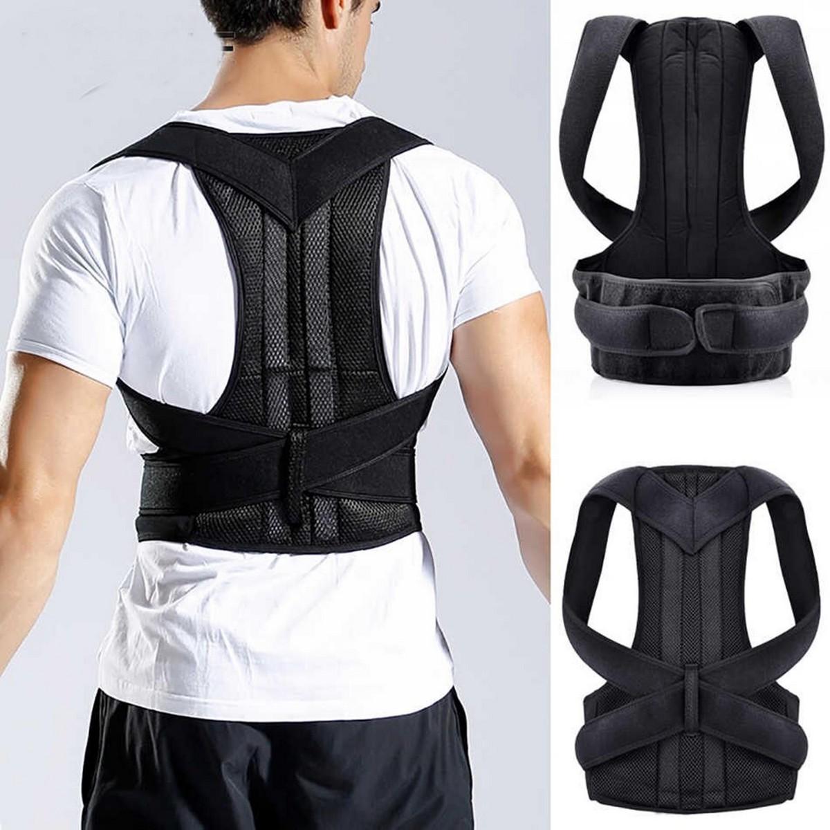 Posture Belt for Back Support cushion and Posture - Black