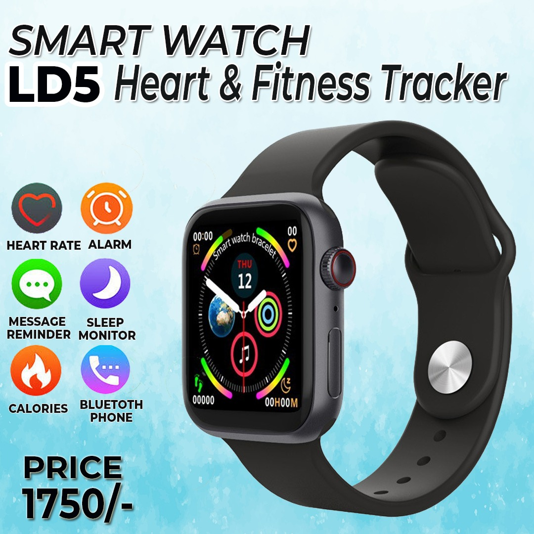 LD5 Bluetooth Smart Watch Men Women Bracelet Blood Pressure Heart Rate Monitor Fitness Tracker Smartwatch for iOS Android