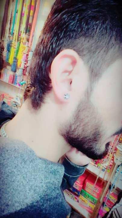 Earring for Men- Black