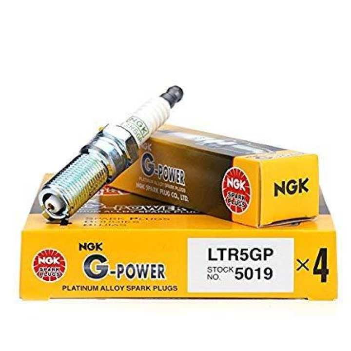Spark Plug NGK - Platinum Tip, pack of 4, For All cars