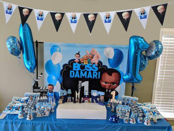 Boss baby birthday party pack
