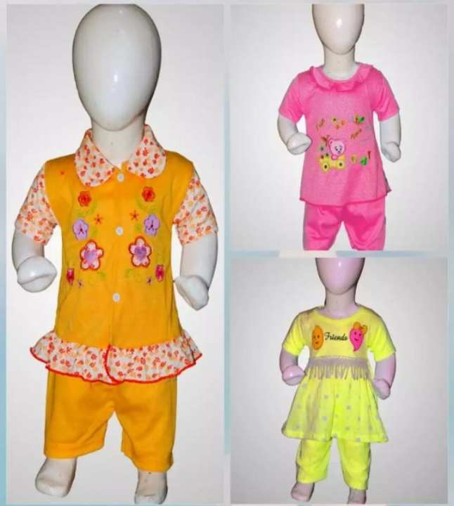 Pack of 3 Frock And Pajama