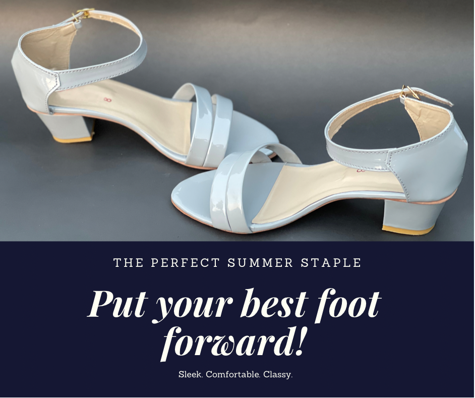 Wedge Sandal Box Heel