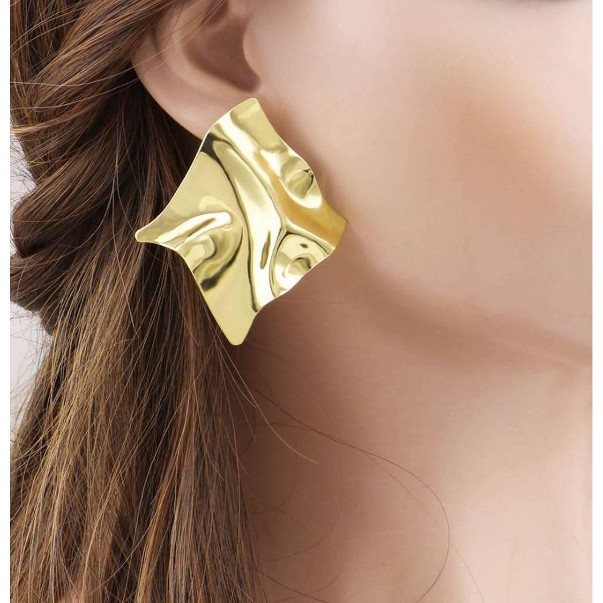 Classy Big Irregular Trendy Fashionable Earring