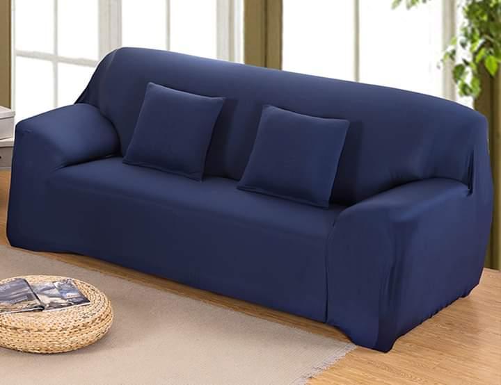 Sofa Cover - 7 Seater(3+2+1+1) Blue Top Ten Shop