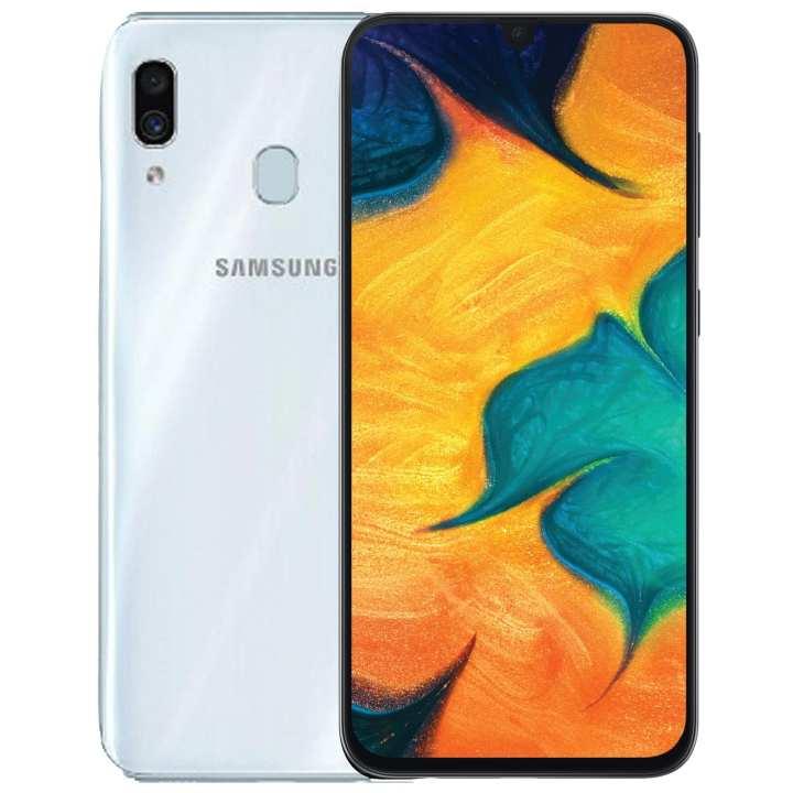 Samsung Galaxy A30 Mobile Phone - 6.4 FHD Display - ROM 64GB - RAM 4GB - Face Unlock