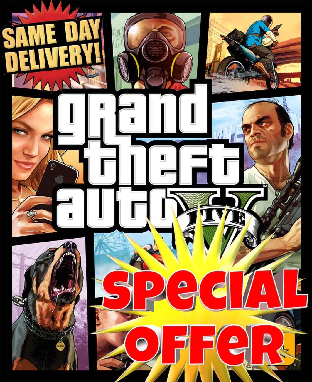 GTA V Premium Online Edition PC Rockstar Game Key