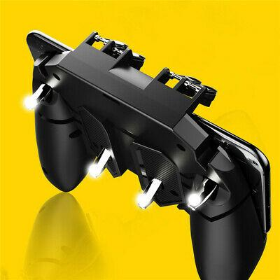 Ak66 Mobile Game Controller Six Finger All-In-One Joystick Gamepad For Pubg Standard Controllerss