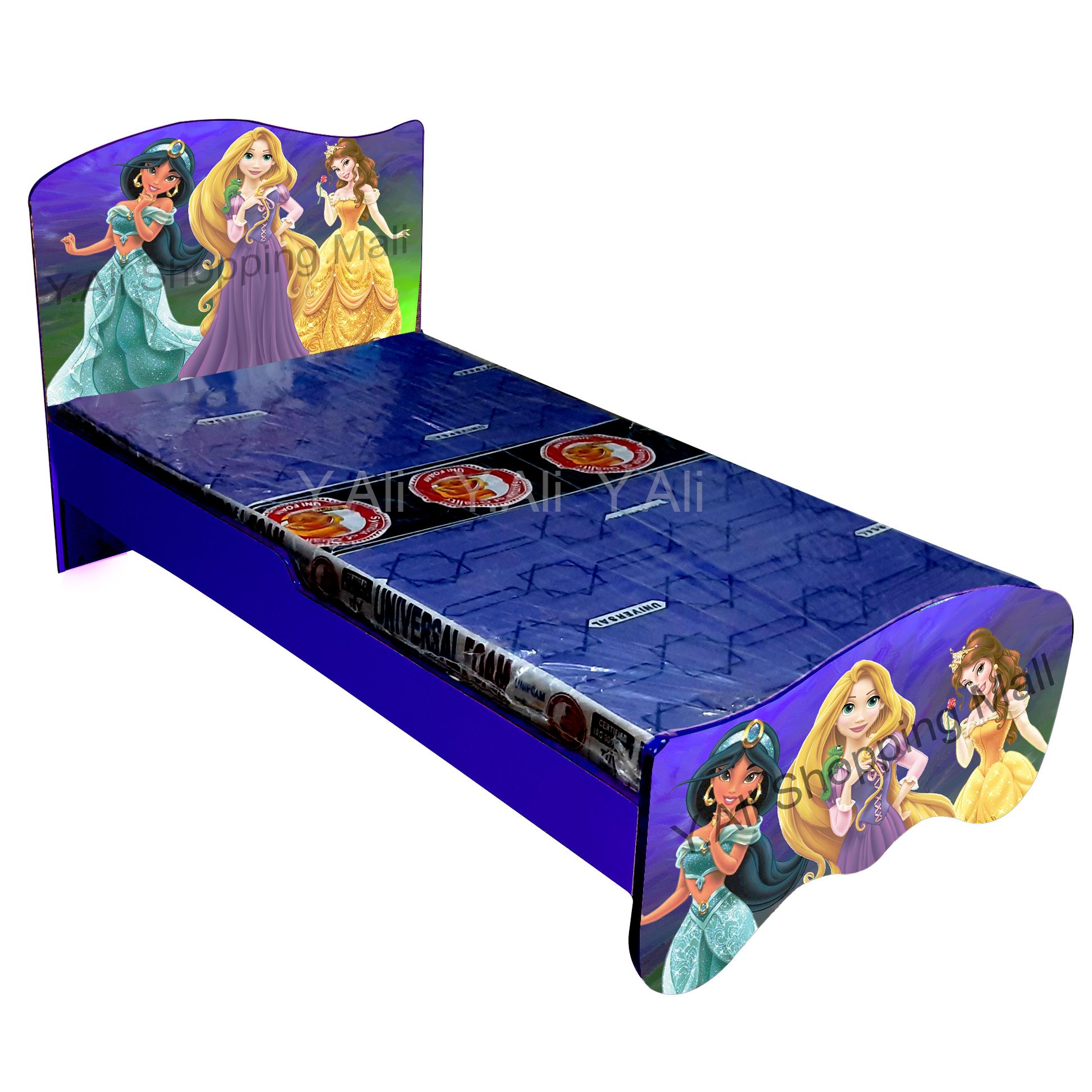 Barbi Kids Bed D2 - Multicolor