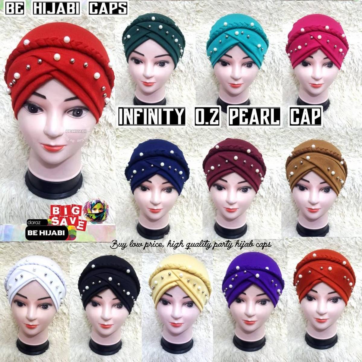 Muslim Scarf Womens Muslim Hats Hijab Underscarf Caps Turban Headwrap Bonnet Hat