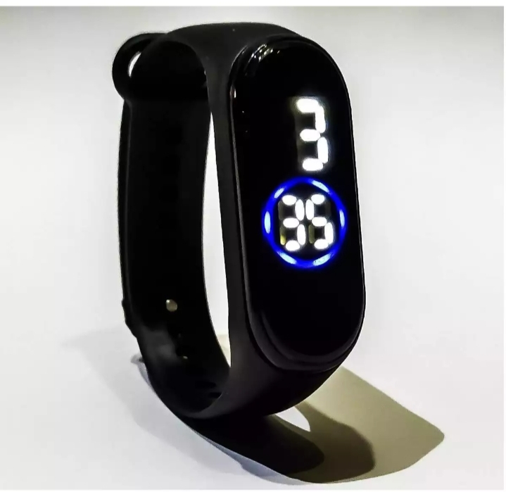 M5 Touch Led Bracelet Digital Watch Band With Free Gift Box