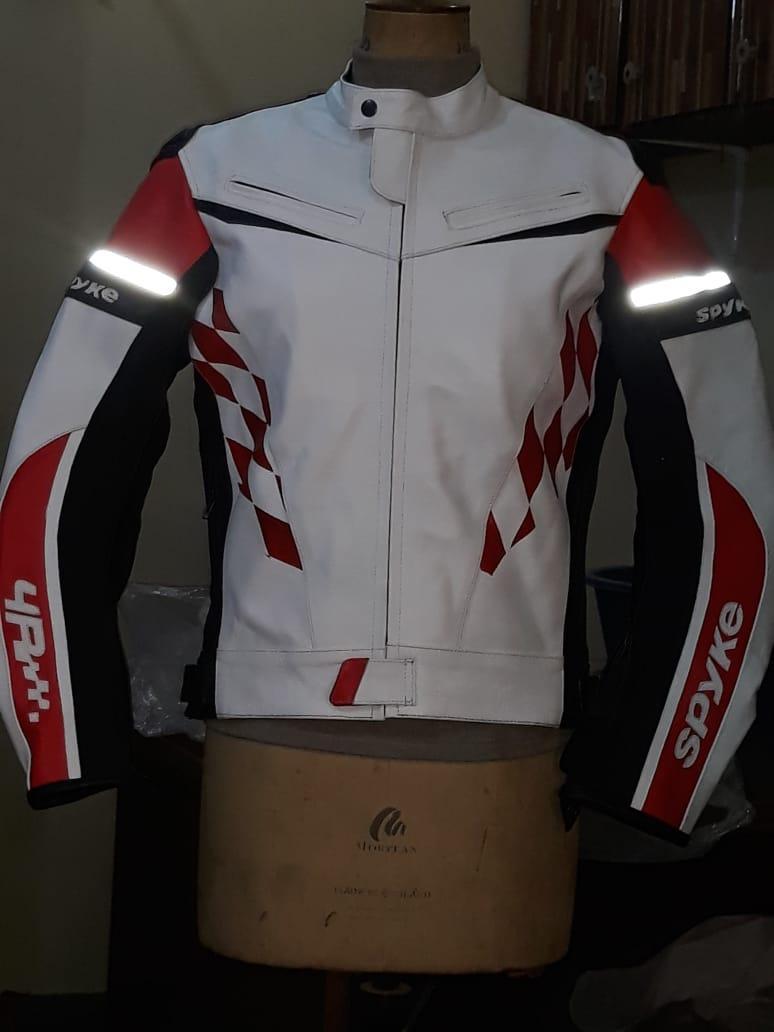 91b029527 Spyke 4 RACE GP Leather Motorcycle Jacket for Men