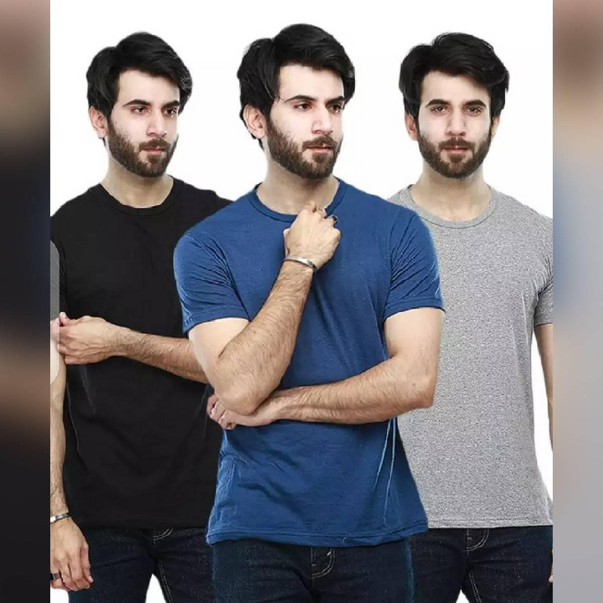 Pack of 3 basic t shirt