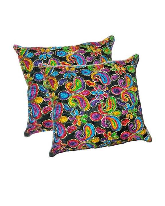 Pack Of 2 Fancy Embroidery Cushion