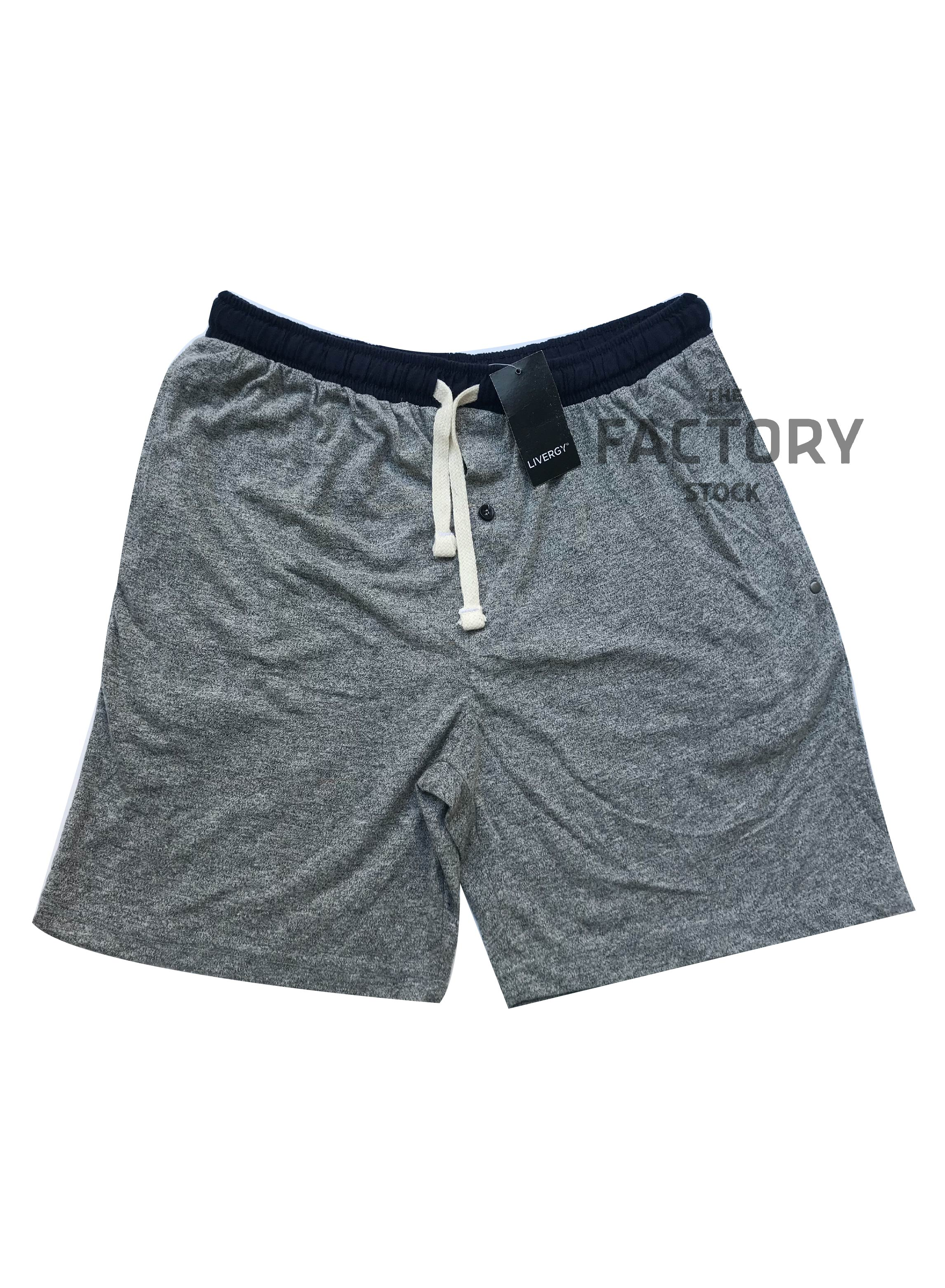 The Factory Stock - Comfortable Casual Single Jersey Shorts/Loungewear for Men