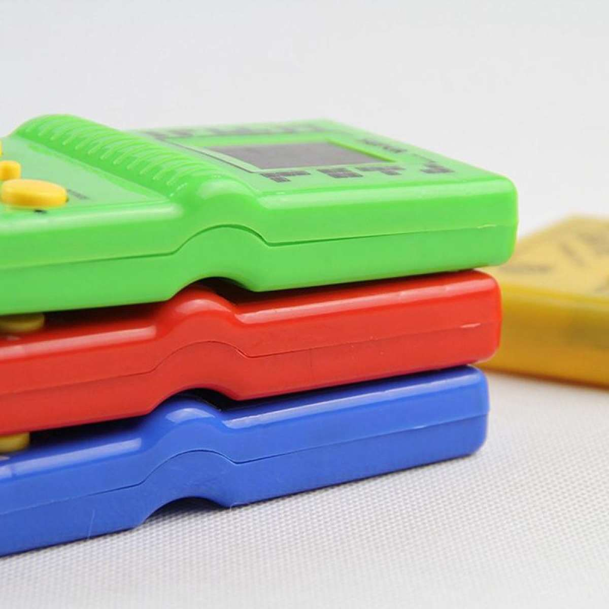 Classic Brick Game Toy For Tetris Hand Held Electronic Game Gift