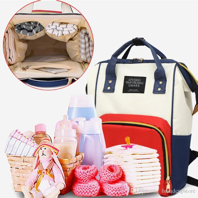 Multifunctional Mummy Maternity Nappy Diapers Bag Large Capacity Baby Bag Travel Backpack Diaper Organizer Nursing Care Child diapers bags.