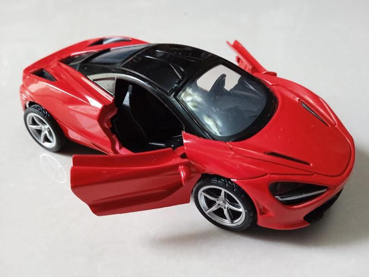 Mclaren Diecast Model Car With Door Function For Kids