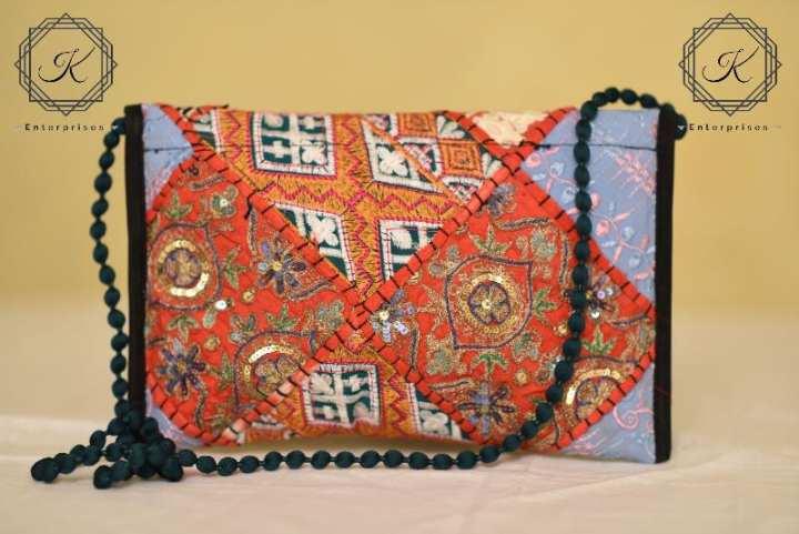 Handmade Ladies Clutch Bag