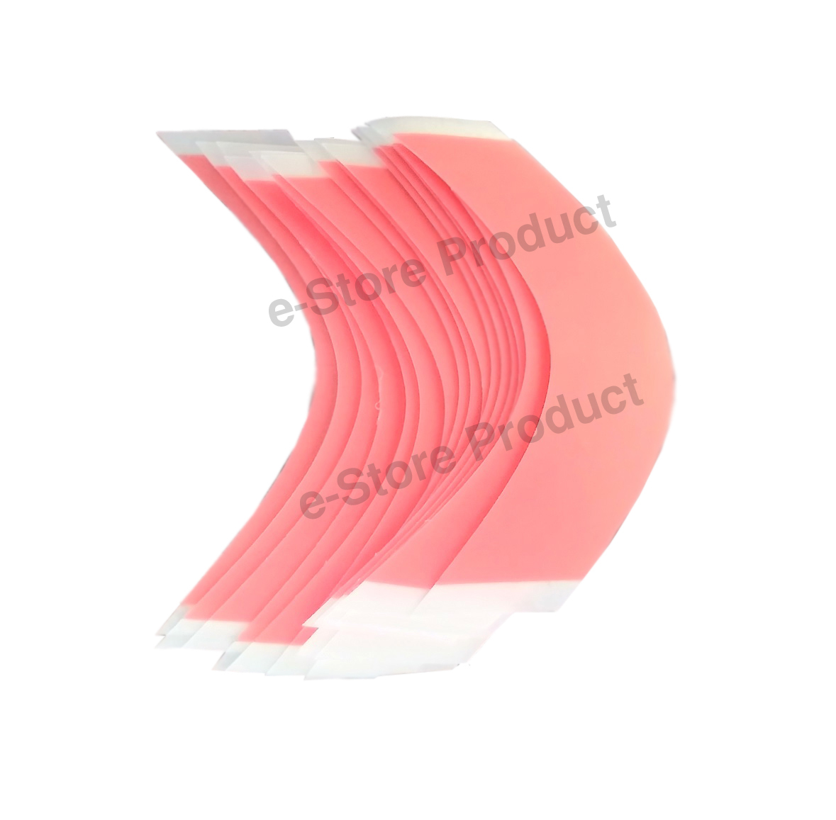 Pack of 25 x Front Lace Wig Unit Super Stick RED Strips - Very Strong Hold Double-sided Adhesive Tape (2 x 8)cm