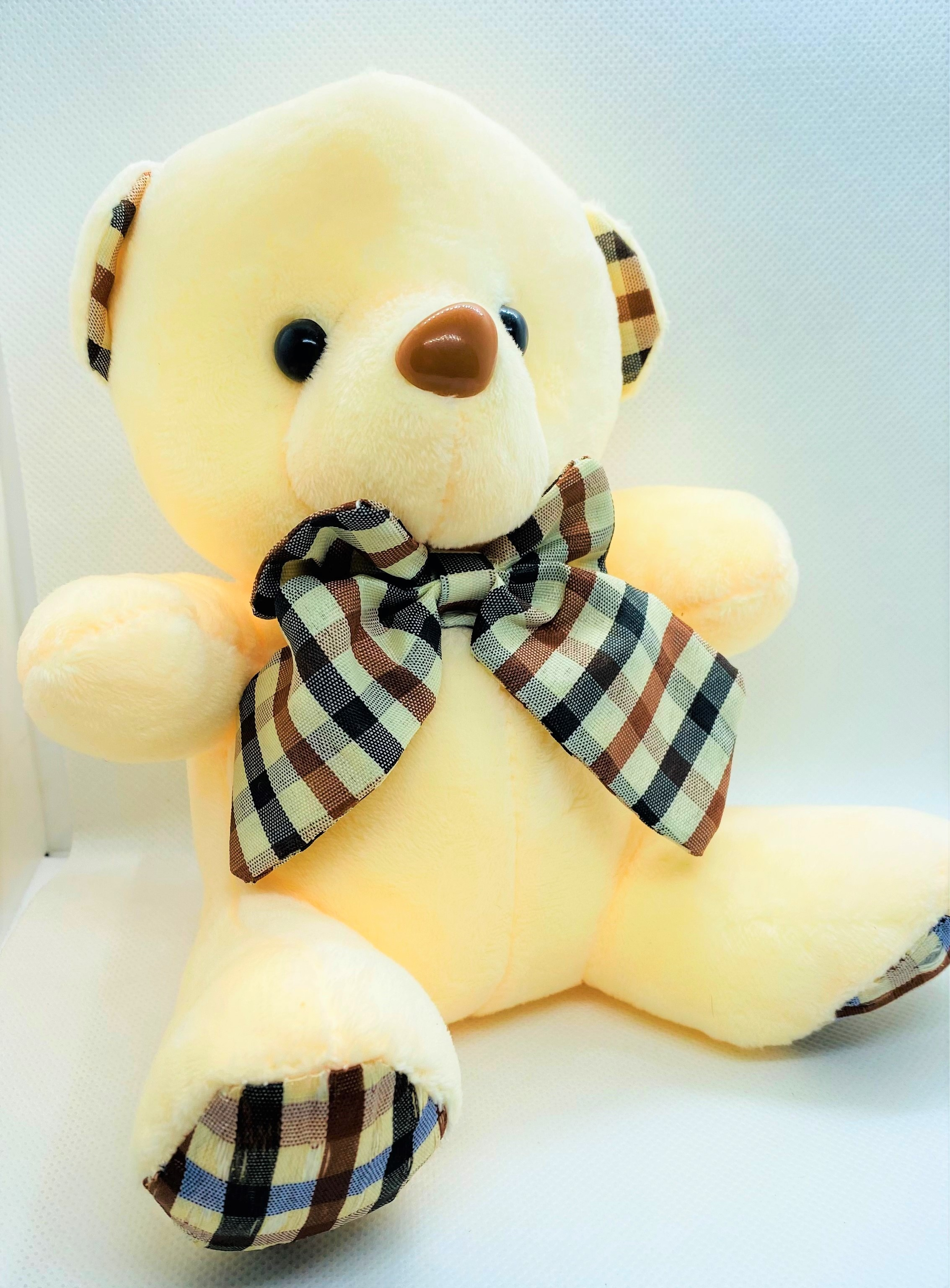 07 inch Teddy Bear Stuffed Animals, Pack of 1 Small Baby Bear Plush, Soft Toy for Kids, Boys and Girls