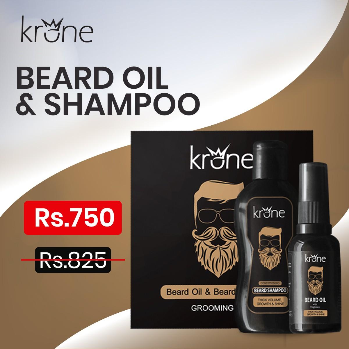 Krone Beard Oil & Shampoo