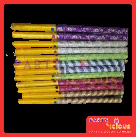 Pack of 6 Dandiya Dancing Stick for mehndi rasm e hina