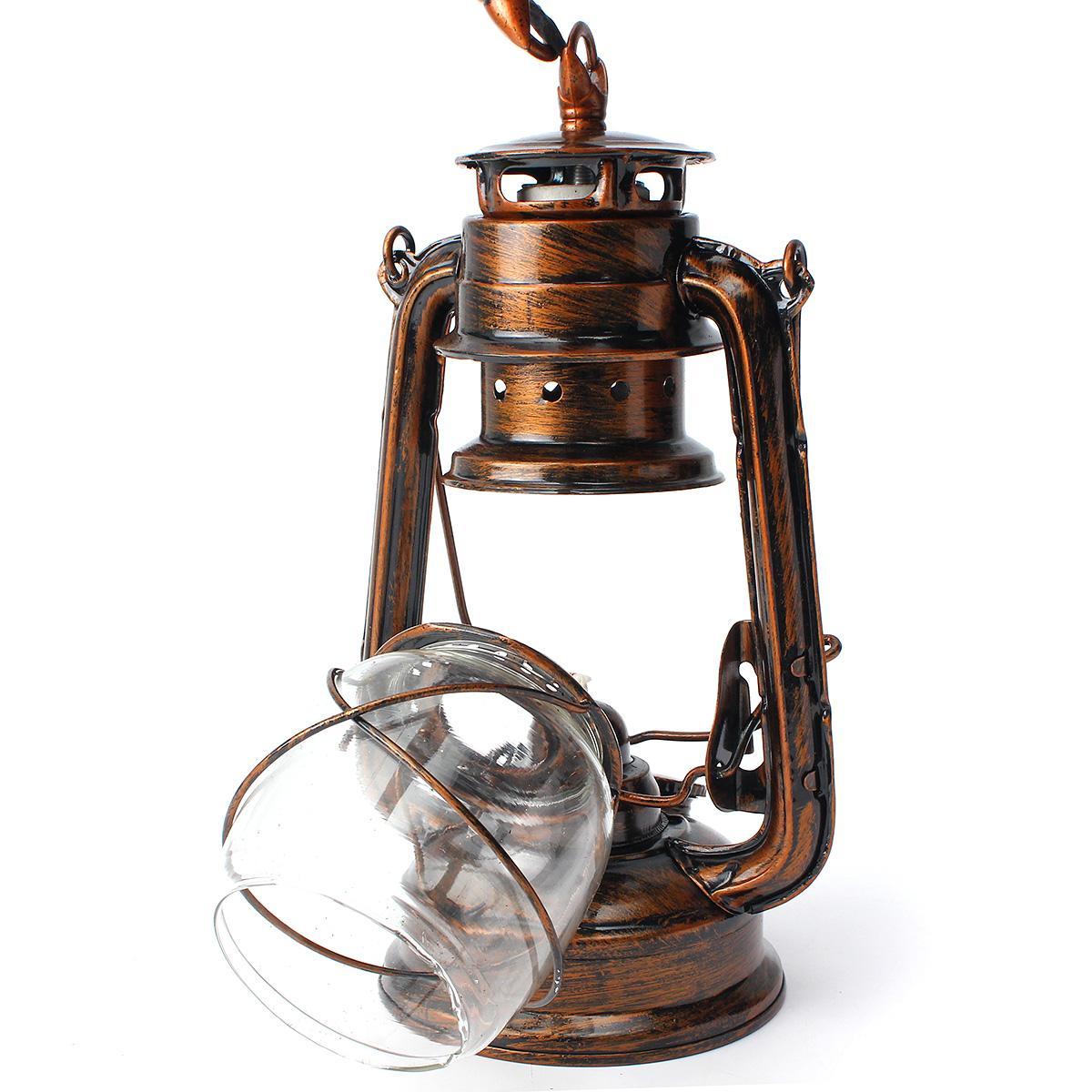 Retro antique vintage rustic lantern lamp wall sconce light fixture outdoor e27