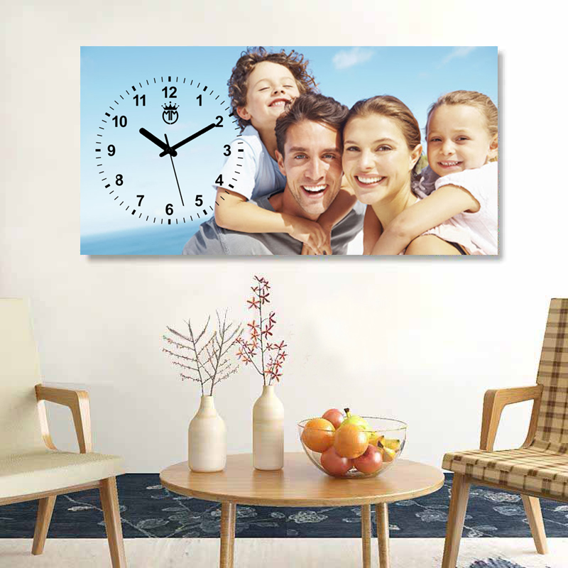 Custom made-Majesty Clock-A beautiful clock for your beautiful home- Scenery Clock-Clock Scenery- Acrylic Wall Clock 最漂亮的时钟