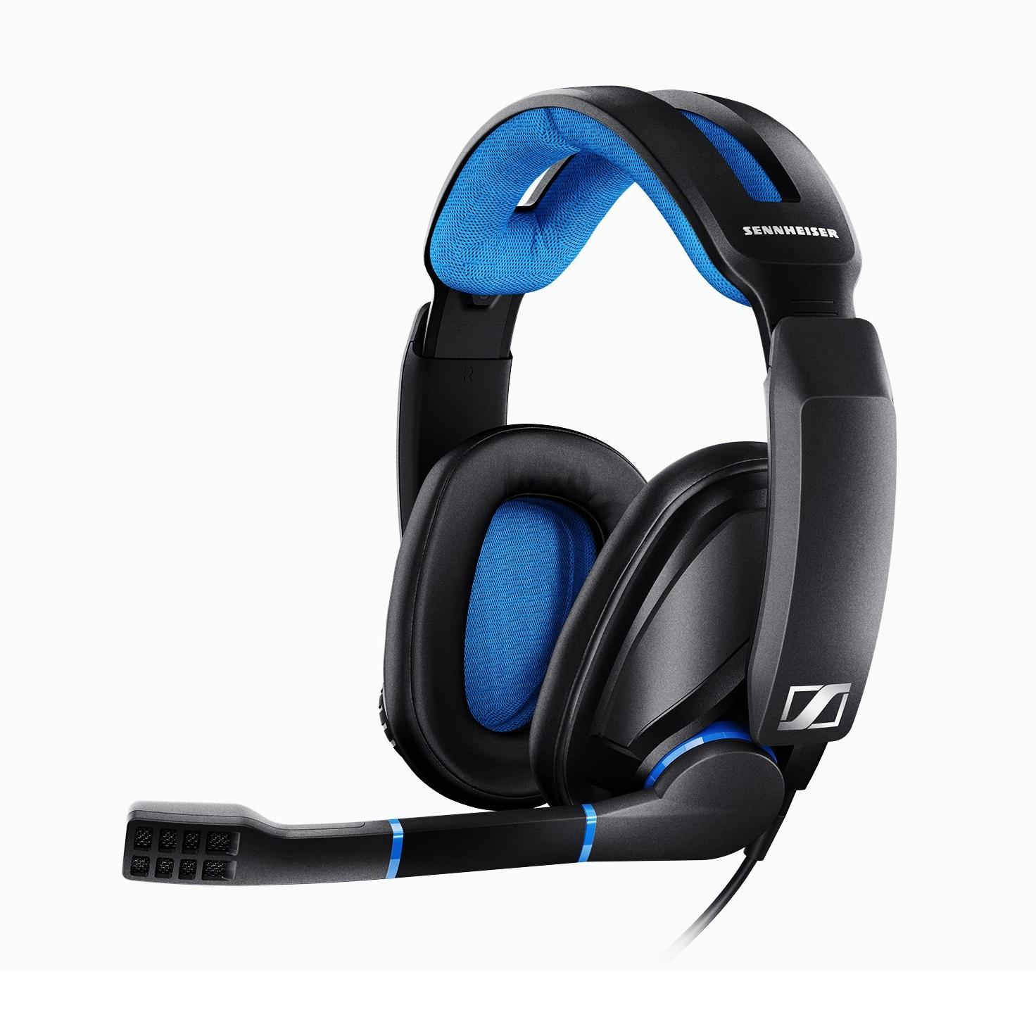68a3cca5652 Sennheiser GSP 300 Closed Back Gaming Headset for PC, Mac, PS4 and Xbox One