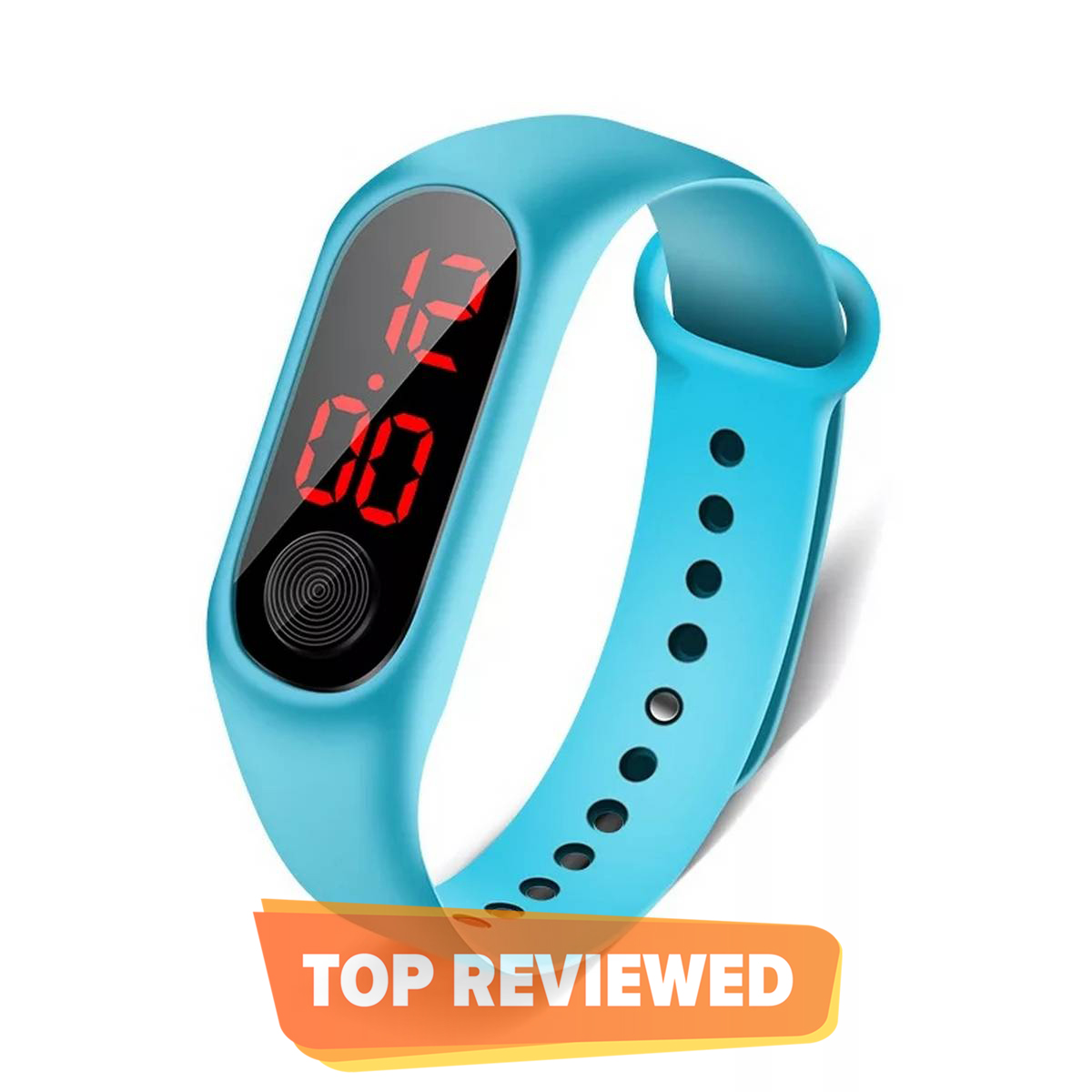 Children Watches Kids LED Digital Sport Watch for Boys girls Electronic Silicone Bracelet Wrist Watch