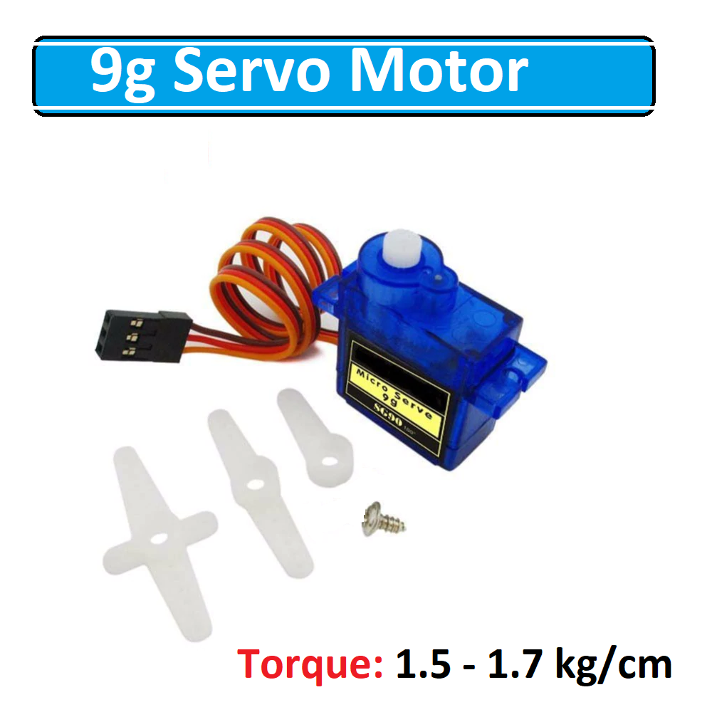 SG90 9G Micro Servo Motor For Robot Helicopter Controls for Arduino DIY RC Car Model