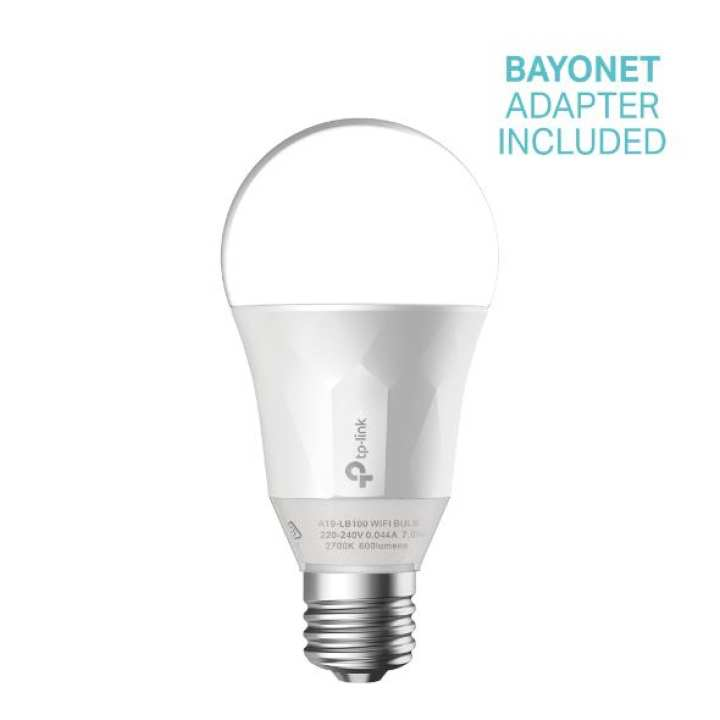 TPLINK  Smart Wi-Fi LED Bulb with Dimmable Light LB100