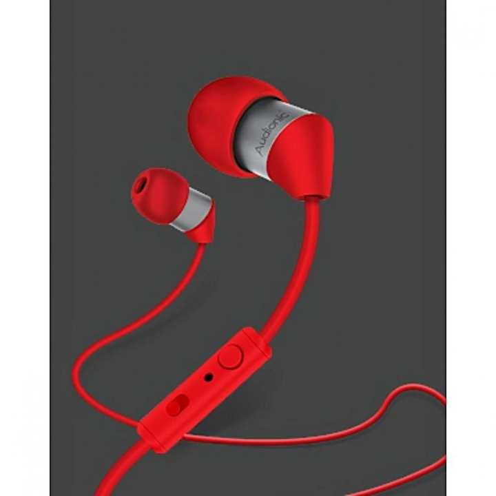 Audionic T-40 Thunder Earphone Hand Free Universal Super Bass HandFree Ear Phone Superb Base HandsFree for Samsung, LG, Motorola, Huawei, Infinix, Iphone, Oppo Vivo Xiaomi. BlackBerry Lenovo Asus Sony Hand Free