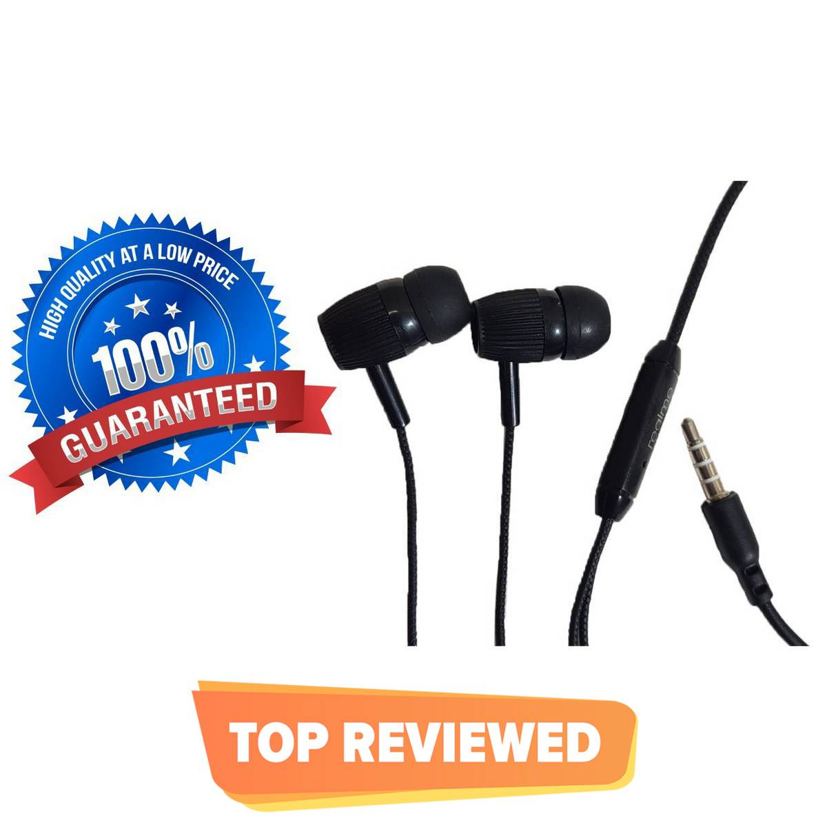 Handfree 3.5mm  Earbuds wired with Mic  Cable Earphones  Handsfree for gaming, music, Pubg, Samsung  Compatible with Android device Stereo Handsfree  Mobile Handsfree for Gaming  Handfree for Girls