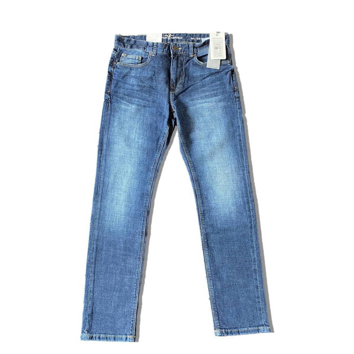 KPL Hampton Republic Branded Premium Quality Slim Fit Denim Jeans for Men