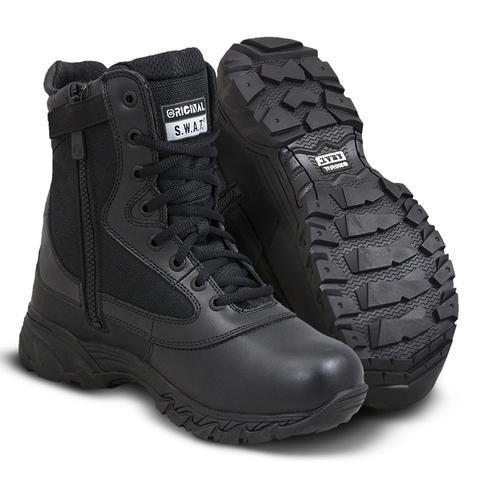 366786b609c141 Original S.W.A.T. Men s Classic shoes US Forced Entry Side ZIPPER Tactical  Deployment Boot Leather Military SWAT
