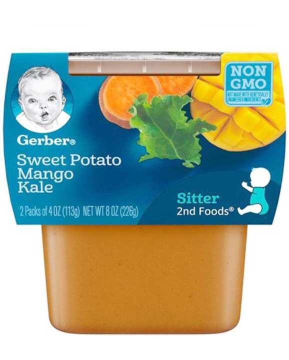 Gerber 2nd Foods Pudding SitterSweet Potato & Mango Kela 226g