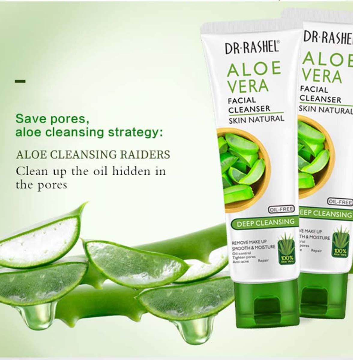 DR.RASHEL Makeup Remover Aloe vera soothing & moisturizing gel Face Wash  Whitening Fade Dark Spot Cleanser DRL 1530: Buy Online at Best Prices in  Pakistan | Daraz.pk