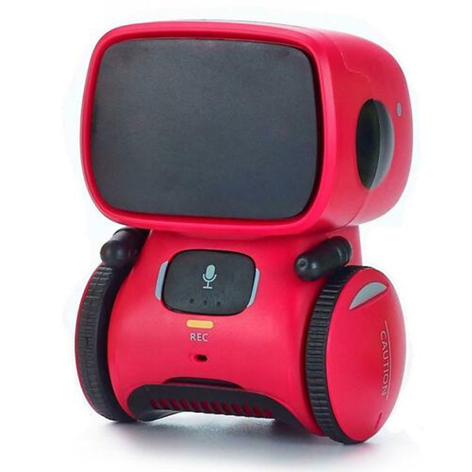 Smart AI - Voice Control and Touch Interactive Dancing Robot Toy - Red