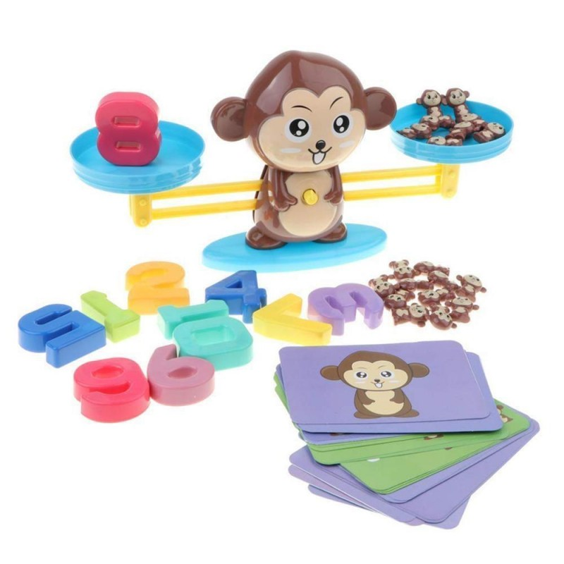 Monkey Balance Game For Kids Early Education Learning Toy Gain your Knowledge Mathematical Concept