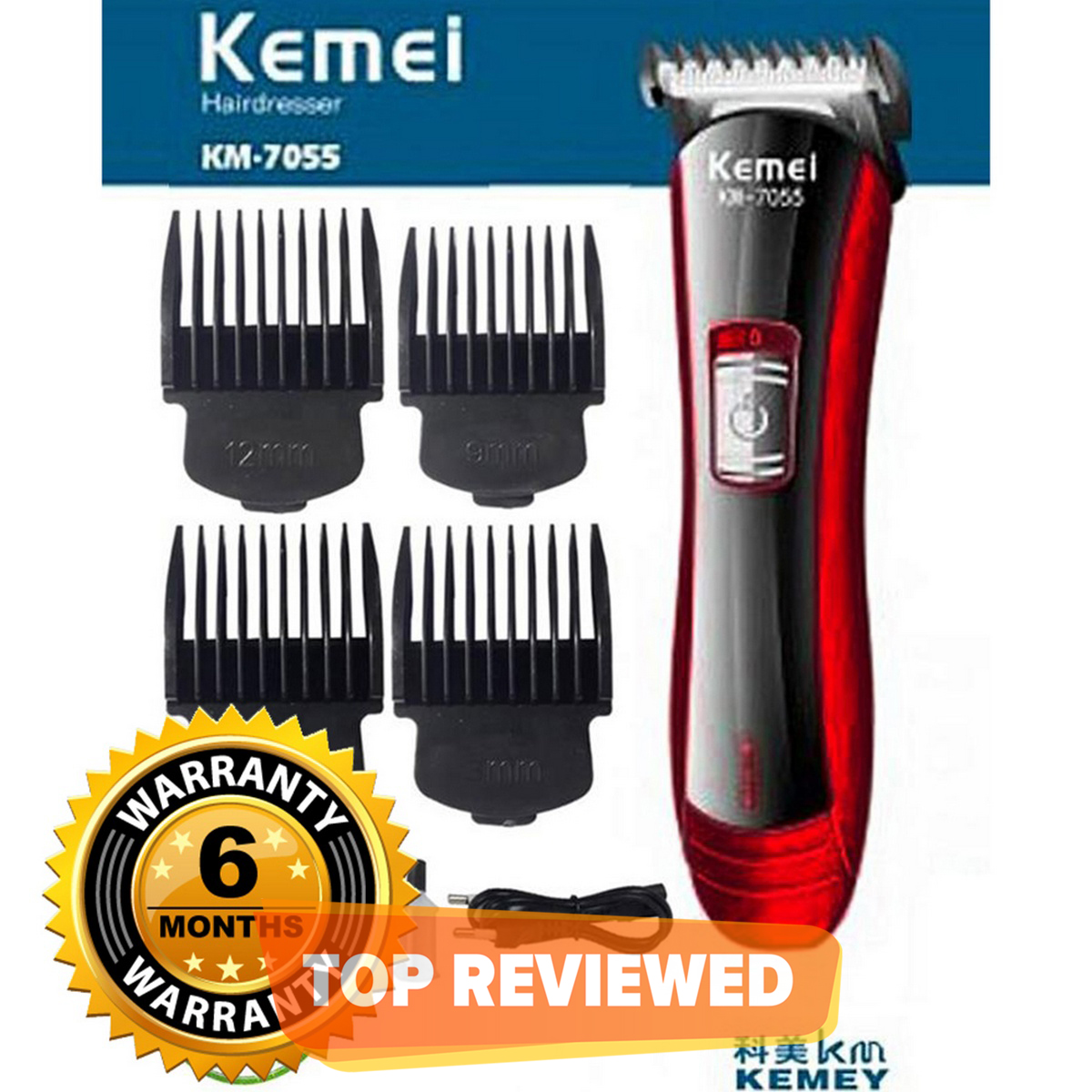 Shaving Machine - Hair Trimmer - Rechargeable Electric Hair Trimmer And Clipper With 6 Months Warranty.