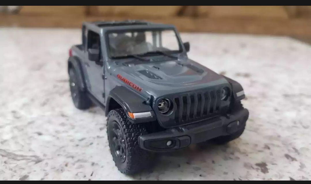 "Kinsmart Diecast Car 5"" 2018 Jeep Wrangler Rubicon Open Top"
