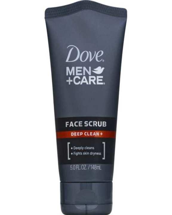 Dovve Men+Care Face Scrub, Deep Clean Plus