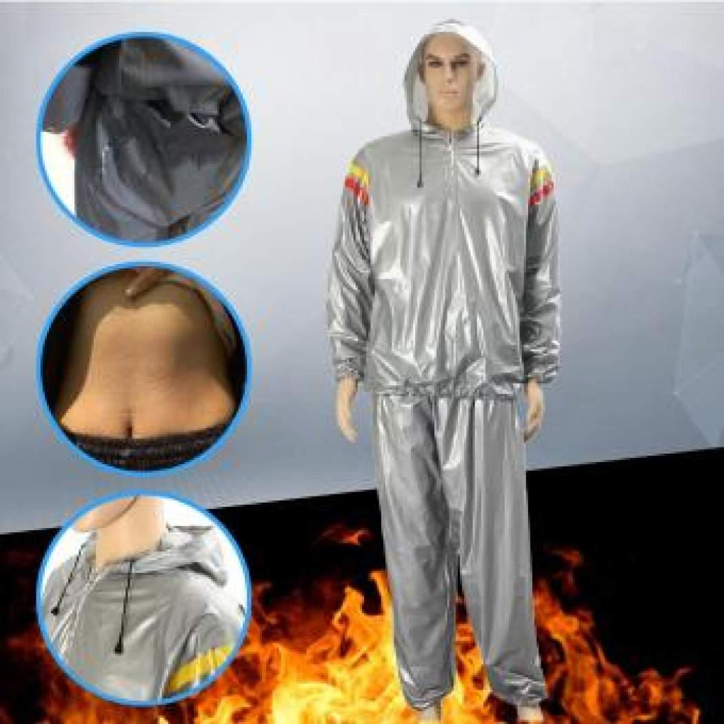 Heavy Duty Weight Loss Slim Sweat Exercise Gym Fitness Sauna Suit