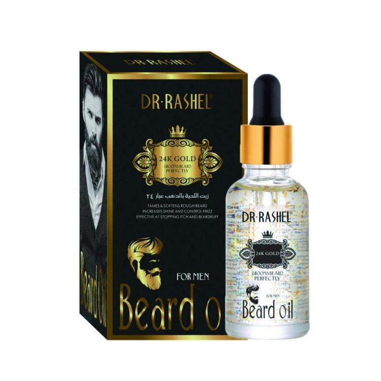 Dr.Rashel 24k Gold Beard Oil For Men Increase Shine and Stopping Beardruff:  Buy Online at Best Prices in Pakistan | Daraz.pk