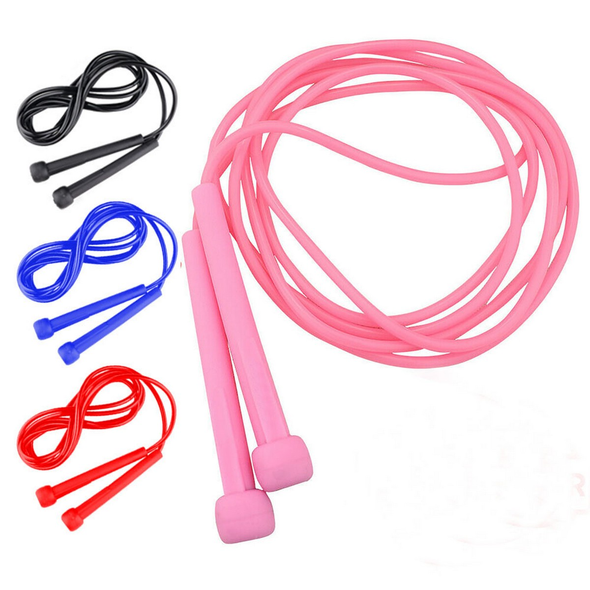 Skipping Rope Adjustable Jump Rope Fitness Speed Gym Adults Girls Kids Men