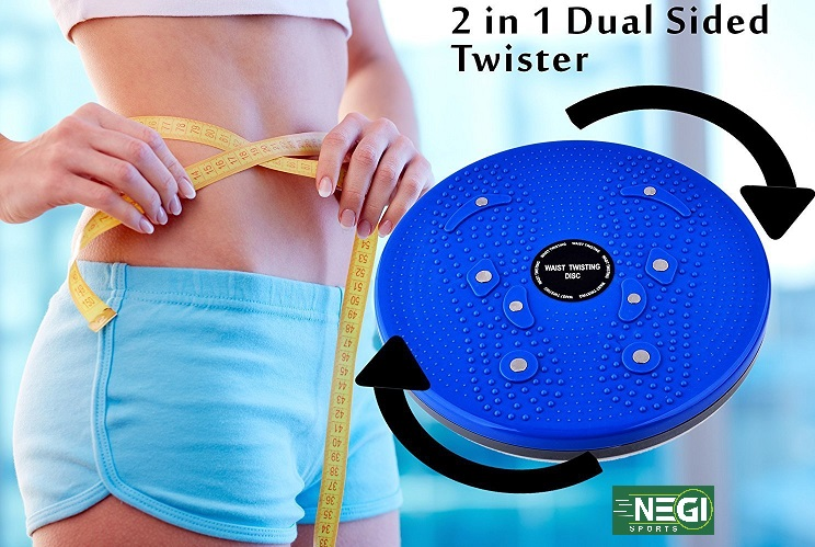 AB Twister - Black Weight Loss Exercise Machine Belly Trimmer special for Women