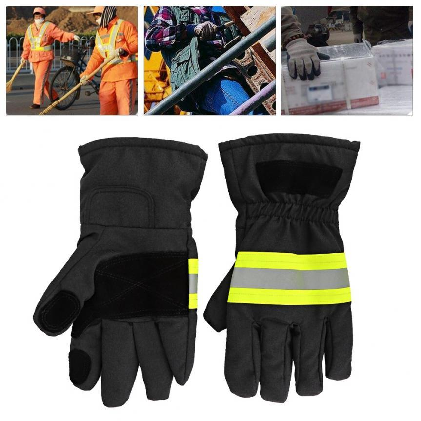 Fire Proof Anti-fire Gloves Heat Proof Gloves Firefighting Gloves High Quality