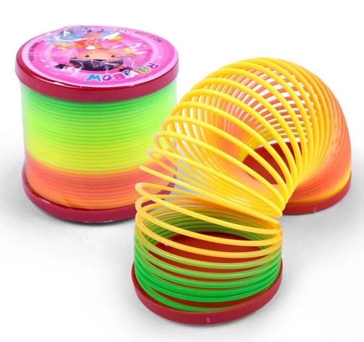 Magic Slinky Rainbow Springs Bounce Fun Toy For Kids